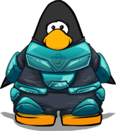 EPF Spacesuit on a Player Card