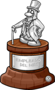 Employee of the Month Trophy full award es