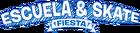Fiesta de Escuela y Skate logo