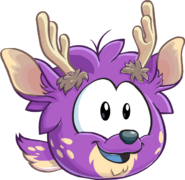 Puffle purple1019 paper