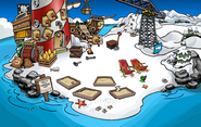 Rockhopper's Quest construction Beach