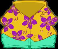 Camisa Floreada icono