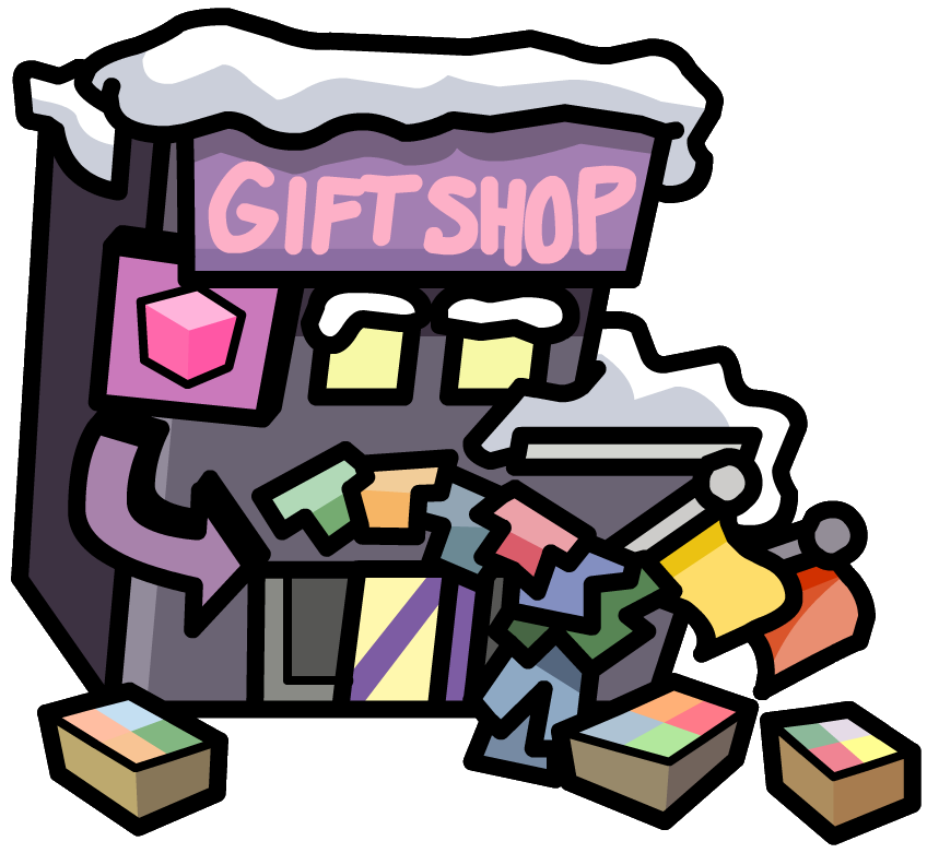 Image - Outside view of GiftShop.png | Club Penguin Wiki | FANDOM ...