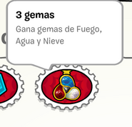 Club Penguin - 3 gemas