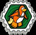 Club Penguin Estampilla - ¡A despegar!