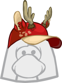Gorra de Ciervo Rojo icono
