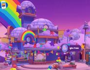 Iglús e Interiores Exterior Celebración Arcoíris
