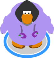 Purple O'berry Hoodie in-game