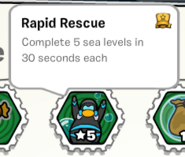 Rapid rescue stamp book