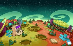 April Fools' Party 2012 Space Dimension