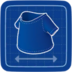 Blueprint T-Shirt icon