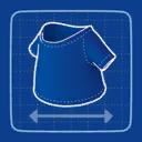 Blueprint T-Shirt icon
