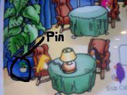 Localización del pin