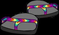 Sandalias con Tira Multicolor icono