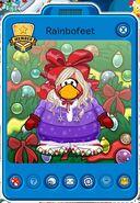 Tarjeta de Jugador de Rainbofeet (durante la Fiesta de Navidad 2014)