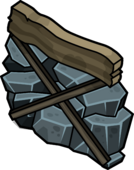 Abandoned Mine Wall sprite 001