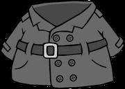 Abrigo de Detective Gris icono