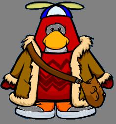 B-19-at player card penguin cutout