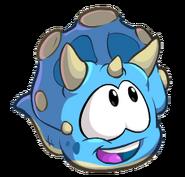 BlueTriceratopsPufflePose