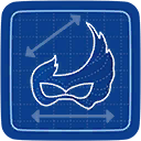 Blueprint Costume Ball Mask icon