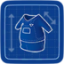 Blueprint Rugged-alls icon