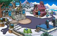 Cabaña de la mina fiesta Skate 1