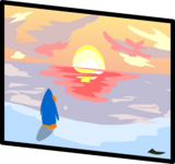 Sunset Painting sprite 005