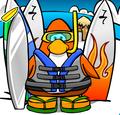 Surferpenguin