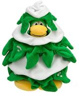 Tree Costume penguin plush toy