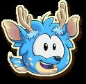 Blue deer selected