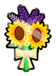 Flower Bouquet Pin icon