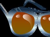 Gafas de Aviador Naranjas