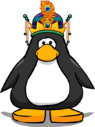 Magical Crown WITH FEATHER PC