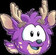 Puffle Ciervo Violeta