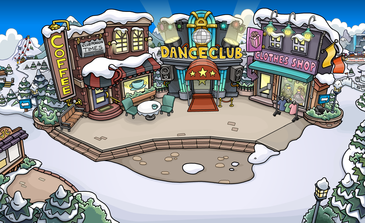 Image New Town Png Club Penguin Wiki Fandom Powered