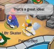 Painterbird (respondiendo) a L8tr Skater: ¡Es una gran idea!