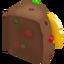 Rebanada de pastel esponjoso icono