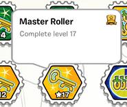 Master roller stamp book