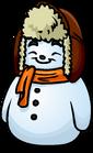 Orange Scarf Snowman sprite 002