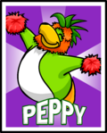 Peppy Stage Poster