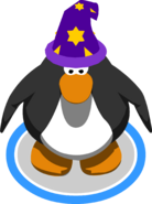 Purple Wizard Hat ingame
