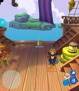 Rockhopper en Isla de Club Penguin ubicación