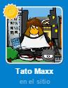 Tato Maxx Lista de Amigos Club Penguin