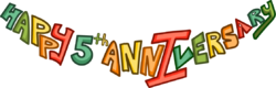 5th Anniversary Party Logo
