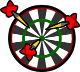 Dart Board sprite 004