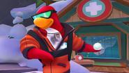 Deja que el Pingüino Jet-Pack te enseñe cómo lanzar