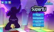 Pantalla Principal App SuperDj
