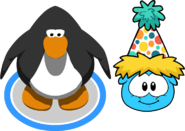 Polka Puffle Hat In-Game