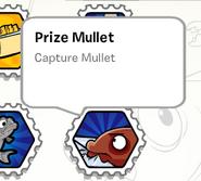 Prize mullet stamp book