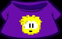 Camiseta de Puffle Pixelado Amarillo icono
